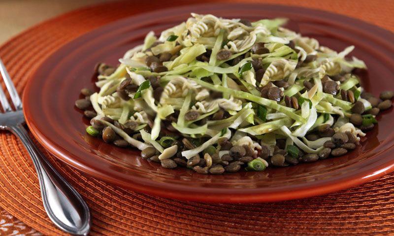 oriental lentil salad