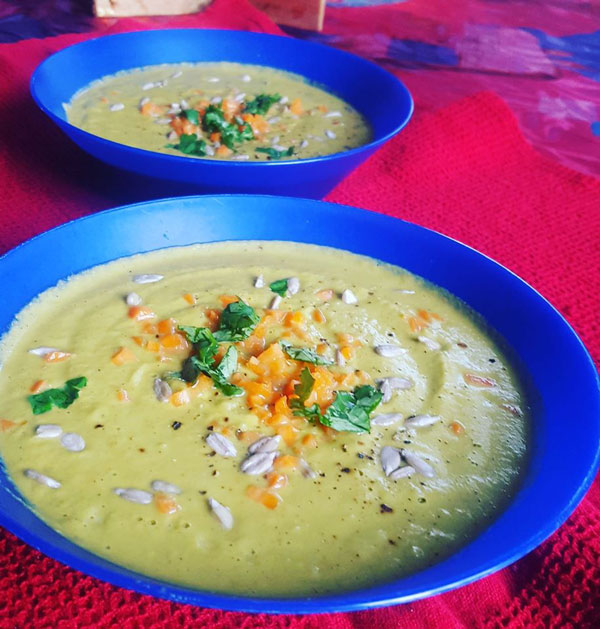 broccoli cashew cream soup