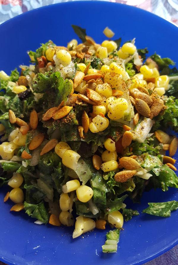 Gut Healing Green Salad