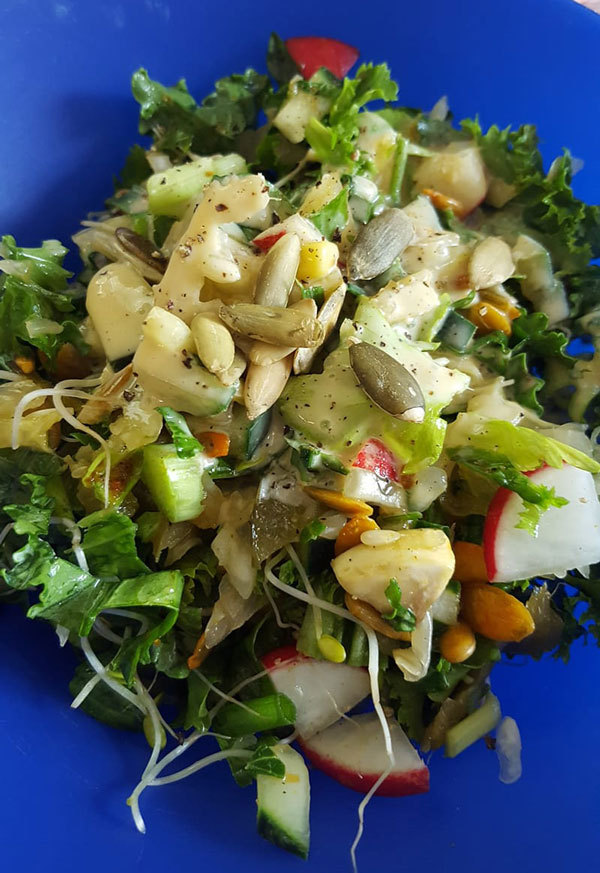 Sprouts Sauerkraut Salad